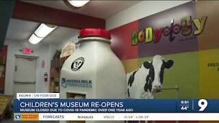 The Children's Museum reopens after year-long closure