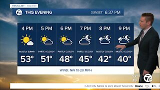 Metro Detroit Forecast: Sunny and colder weekend