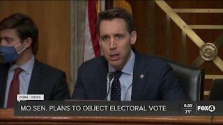 Senator to object electoral vote