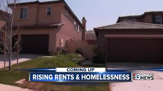 Study shows as rent increases so does homeless population in Las Vegas