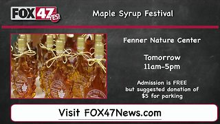 Around Town Kids 3/15/19: Maple Syrup Festival