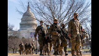 Washington DC to remain under military occupation until late May 2021