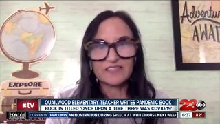 Elementary teacher writes pandemic book for back to school