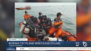 Boeing 737 plane wreckage found
