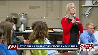 Students, legislators discuss key education issues