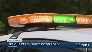 Deadly motorcycle vs. car crash