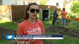 Healing garden honors gun violence victims
