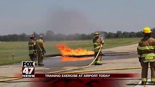 Capitol Region International Airport conducting disaster training on Friday