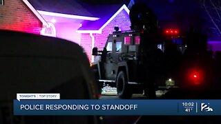 Police respond to standoff in east Broken Arrow