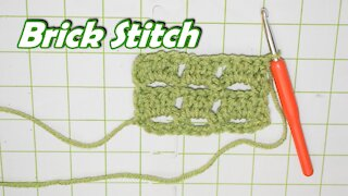 How to Crochet the Brick Stitch