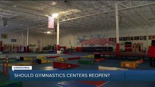 Should gymnastics centers reopen?