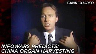 Alex Jones Exposes China's Mass Organ Harvesting