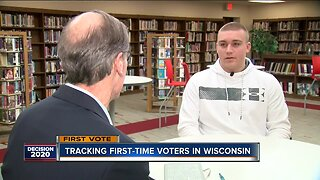 Tracking first-time voters in Wisconsin