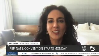 Republican National Convention starting Monday