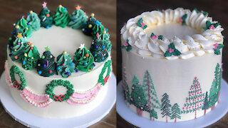 Amazing Cake Decorating Ideas for CHRISTMAS   Christmas Cake Decorating Compilation