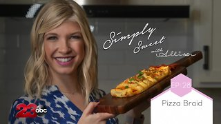 Simply Sweet Allison Pizza Bread for game day