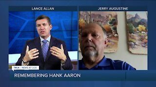 Fomer pitcher Jerry Augustine remembers Hank Aaron