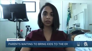 Doctors warn parents not to delay bringing children to hospital
