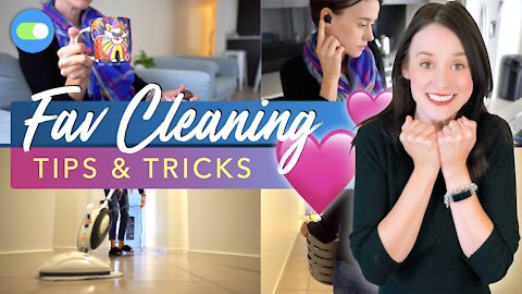 WEIRD CLEANING TIPS THAT WORK | Favourite Cleaning Tips & Tricks 💕