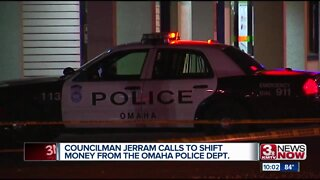Omaha City Council president calls to shift money from the Omaha Police Department