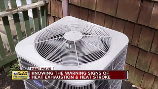 Be aware of these warning signs for heat-related illnesses