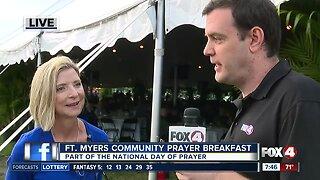 Fort Myers hosts Community Prayer Breakfast - 7:30am live report