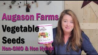 Augason Farms Vegetable Garden Seeds #10 Can ~ 4-5 Year Shelf Life