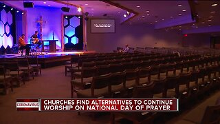 Churches final alternative to continue worship on national day of prayer