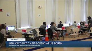 State opens COVID-19 clinic at U.B.