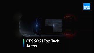 Digital Trends at CES 2021 - Top Tech Awards - Autos