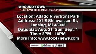 Around Town - Michigan Chicken Wing Festival - 8/28/19