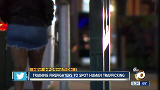 Training firefighters to spot human trafficking