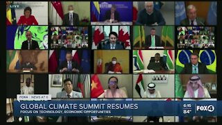 Global climate summit: Biden promises to cut US greenhouse gas emissions by up to 52% by 2030