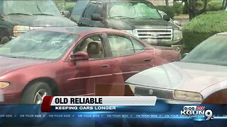 More people driving older cars