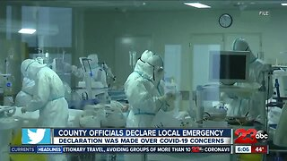 Officials declare local emergency