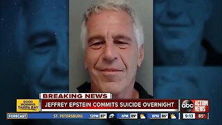 Jeffrey Epstein dies by suicide, reports say