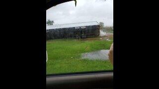 Hurricane Sally Creek Rising
