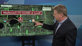 Westbound lanes of I-70 closed between Lowell, Sheridan for fatal crash