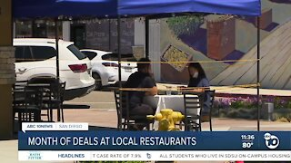 Local restaurants take part in month-long Dine Diego celebration