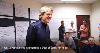 Patrick Byrne Memorizing a Deck of Cards