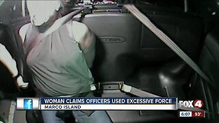 Woman claims Marco Island police used excessive force during arrest