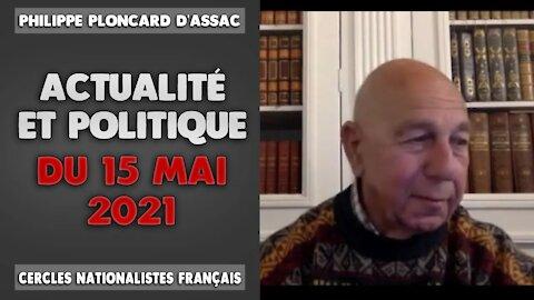 Actualité et politique du 15 Mai 2021