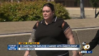Former Sweetwater employee charged with embezzlement