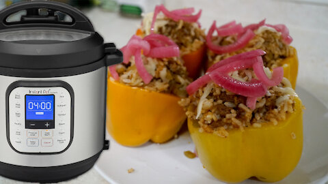 Instant Pot Wednesday: Stuffed Bell Peppers