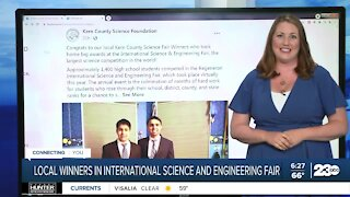 Local winners at International Science and Engineering Fair