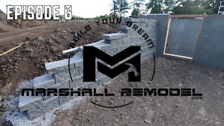 Building a Retaining Wall Ep6