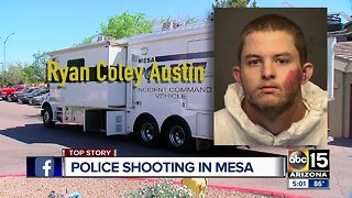 Suspect in custody after shooting involving Mesa officers