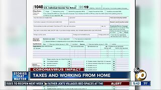Taxes and working from home