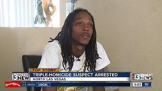 Family speaks out after triple-homicide suspect arrest