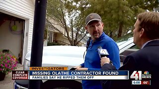 Missing 39-year-old man found safe, Olathe police say